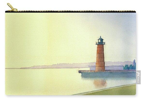 Pierhead Lighthouse, Milwaukee Carry-all Pouch