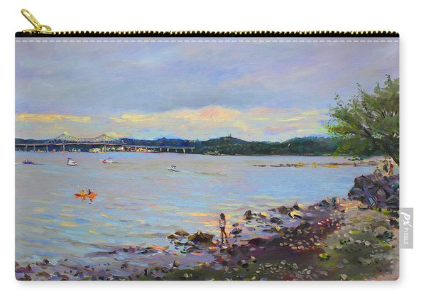 Piermont Shore Ny Carry-all Pouch