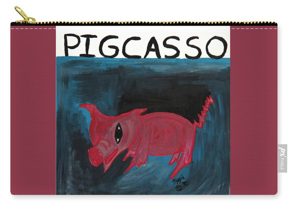 Pigcasso Carry-all Pouch
