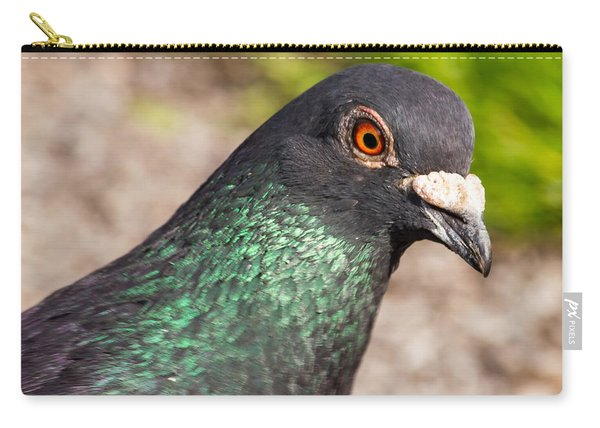 Pigeon Portrait Carry-all Pouch