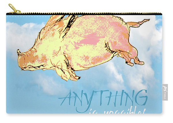 Pigs Do Fly Carry-all Pouch