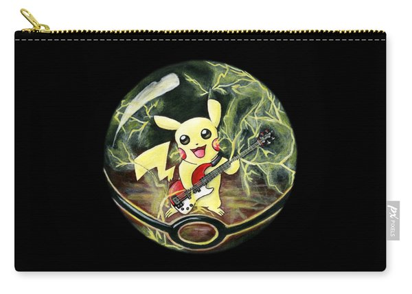 Pikachu's Electrocuting Music Carry-all Pouch