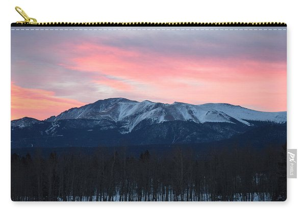Sunrise Pikes Peak Co Carry-all Pouch
