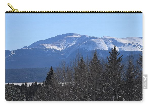 Carry-all Pouch featuring the photograph Pikes Peak Cr 511 Divide Co by Margarethe Binkley