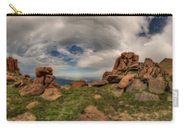 Pikes Peak Panorama Carry-all Pouch