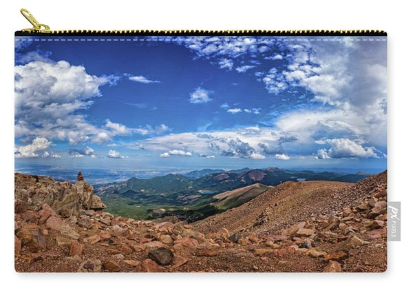 Pikes Peak Summit Vista #2 Carry-all Pouch