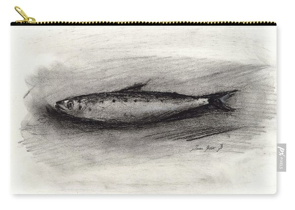 Pilchard Drawing Carry-all Pouch