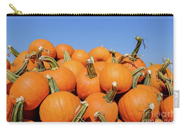 Pile Of Pumpkins Carry-all Pouch