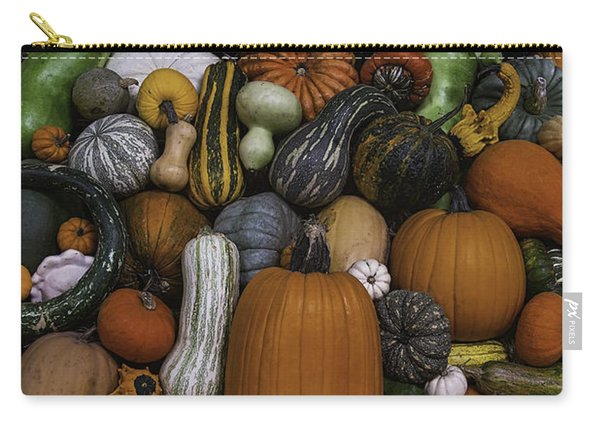 Pile Of Squash Carry-all Pouch
