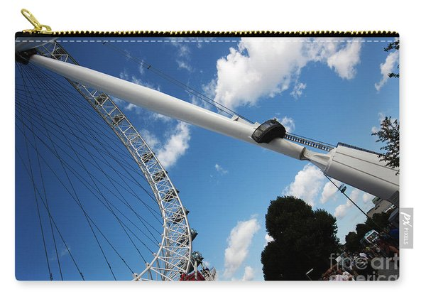 Pillar Of London S Ferris Wheel  Carry-all Pouch