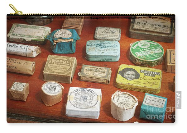 Pills, Powders And Ointments Carry-all Pouch