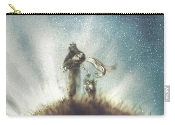 Pilot, Little Prince And Fox Carry-all Pouch