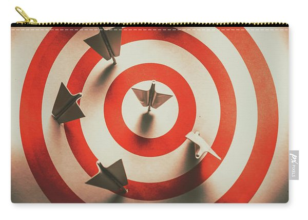 Pin Point Your Target Audience Carry-all Pouch