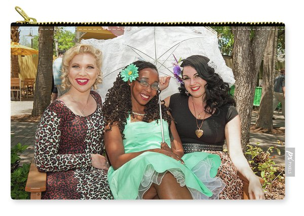 Pin-ups At The Zoo Carry-all Pouch