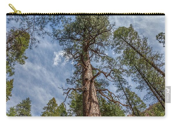 Pine Cathedral On The West Fork Carry-all Pouch