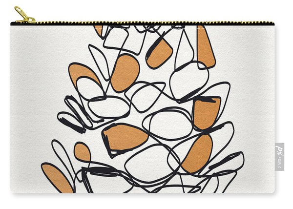 Pine Cone- Art By Linda Woods Carry-all Pouch