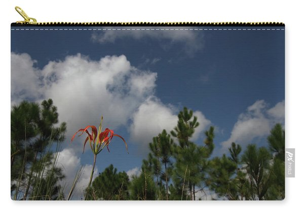 Pine Lily And Pines Carry-all Pouch