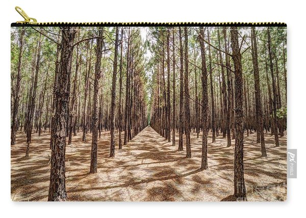 Pine Plantation Wide Color Carry-all Pouch