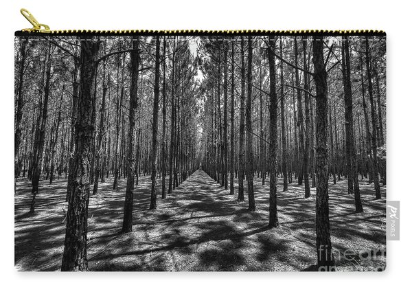 Pine Plantation Wide Carry-all Pouch