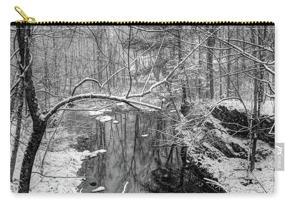 Pine Reflection On The Sheepscot Carry-all Pouch