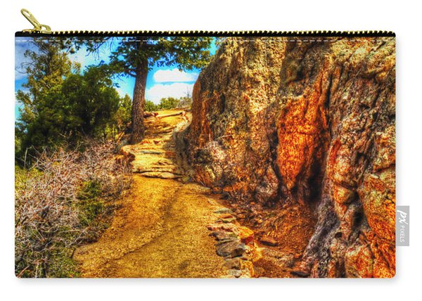 Ponderosa Pine Guarding The Trail Carry-all Pouch