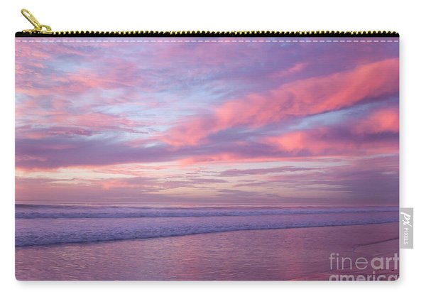 Pink And Lavender Sunset Carry-all Pouch