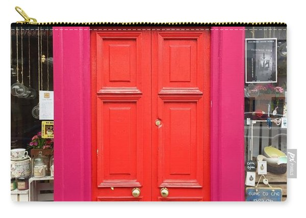 Pink And Orange Door Ireland Carry-all Pouch