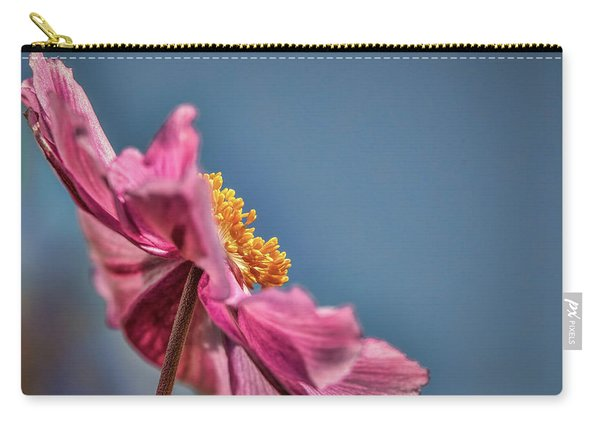 Pink And Yellow Profile #h8 Carry-all Pouch