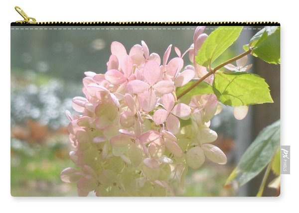 Pink Bloom In Sun Carry-all Pouch