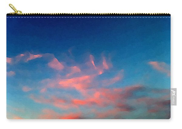 Pink Clouds Abstract Carry-all Pouch
