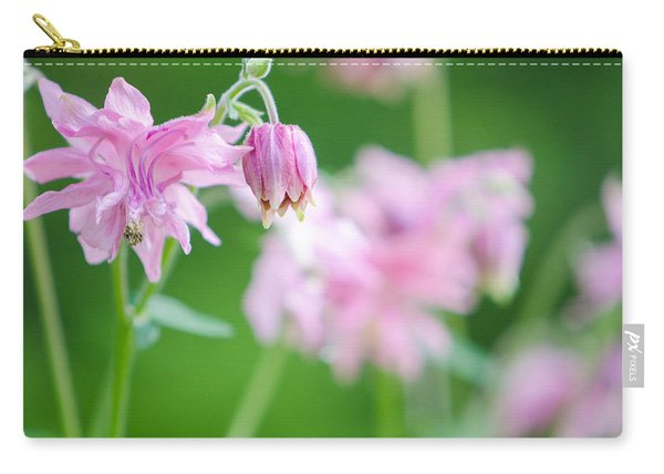 Pink Columbine Carry-all Pouch
