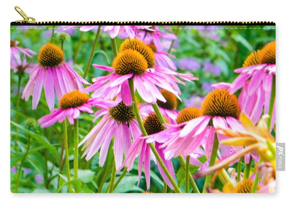Pink Coneflower Carry-all Pouch