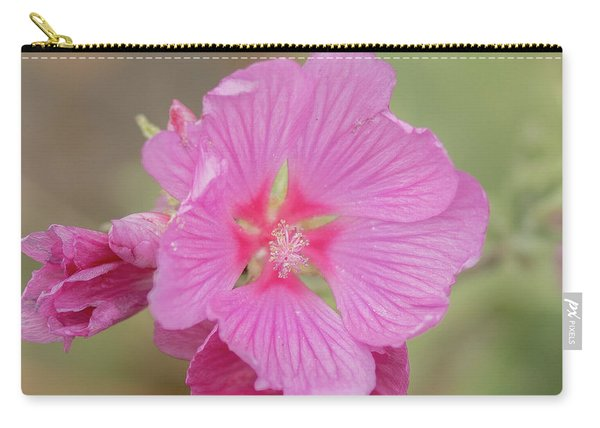 Pink In The Wild Carry-all Pouch