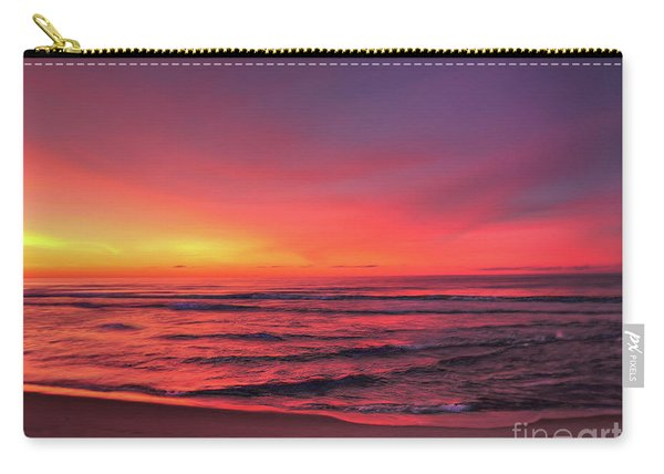 Pink Lbi Sunrise Carry-all Pouch