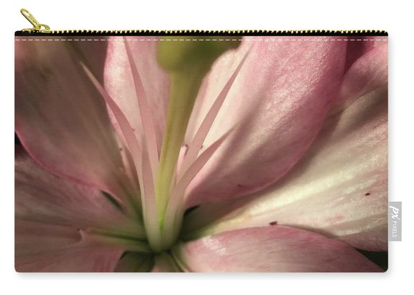 Pink Lily-macro Carry-all Pouch