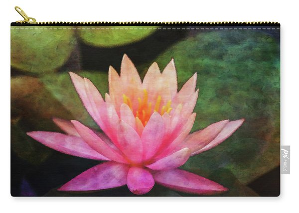 Pink Lotus 4134 Idp_2 Carry-all Pouch