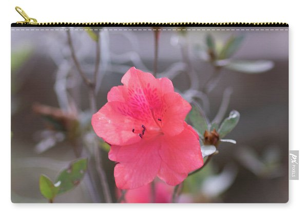 Pink Orange Flower Carry-all Pouch