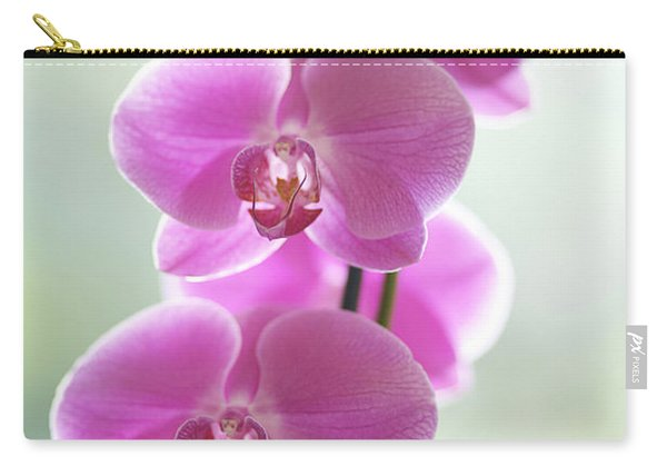 Pink Orchids Carry-all Pouch