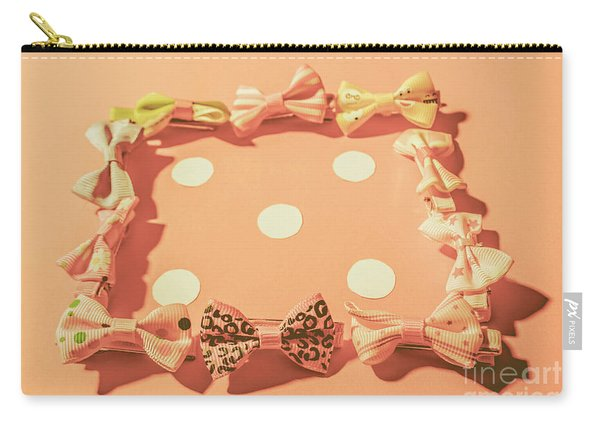 Pink Pastel Fashion Celebration Carry-all Pouch