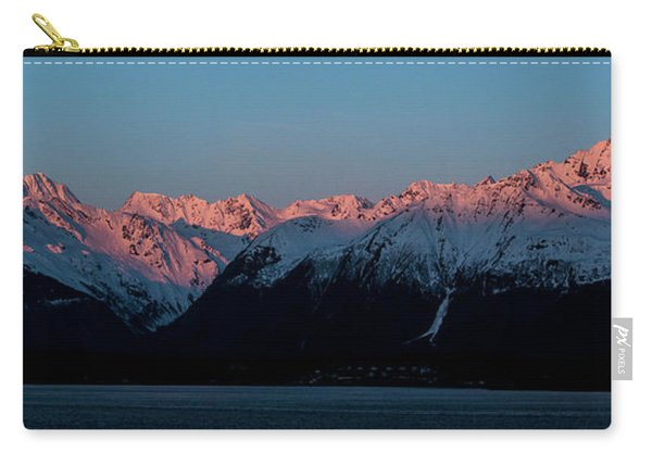 Pink Peaks  Carry-all Pouch