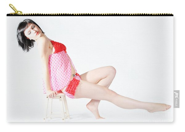 Pink Pinup Carry-all Pouch