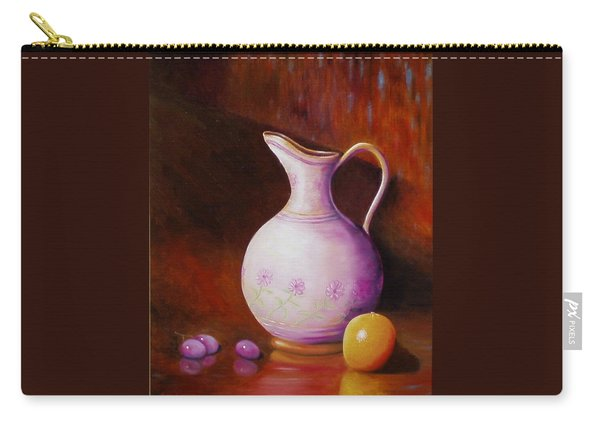 Pink Pitcher Carry-all Pouch