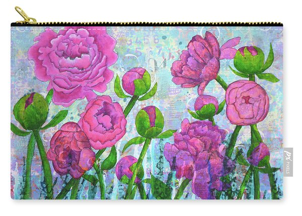 Pink Punch Carry-all Pouch