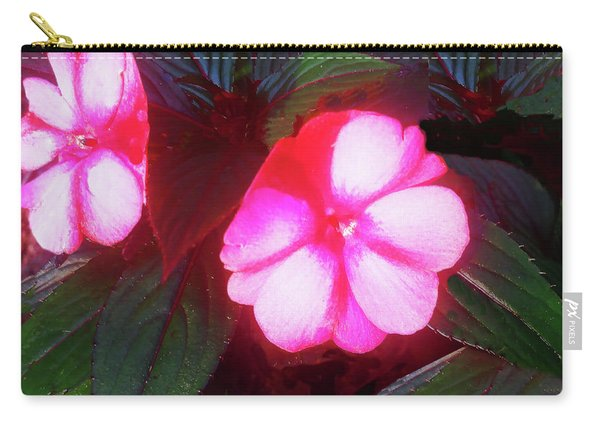 Pink Red Glow Carry-all Pouch