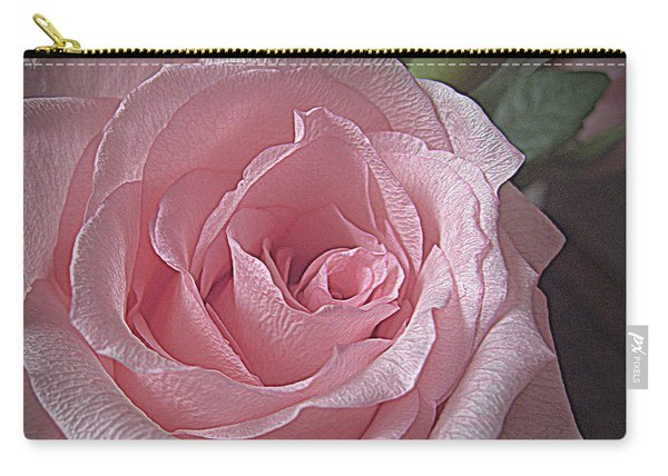 Pink Rose Bliss Carry-all Pouch