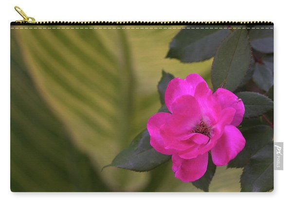 Pink Rose San Antonio Texas River Walk Carry-all Pouch