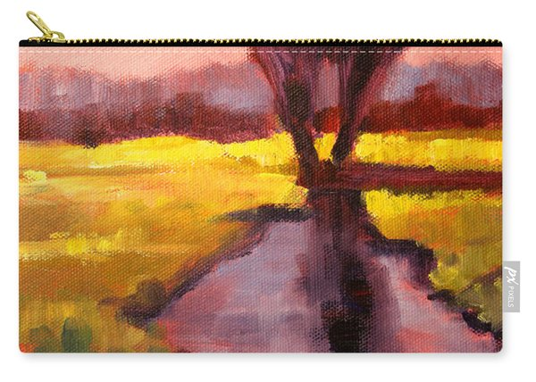Pink Sky Sunset Carry-all Pouch