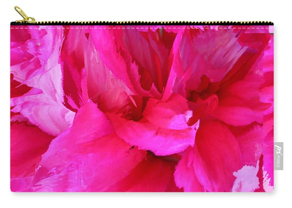 Pink Splash Carry-all Pouch