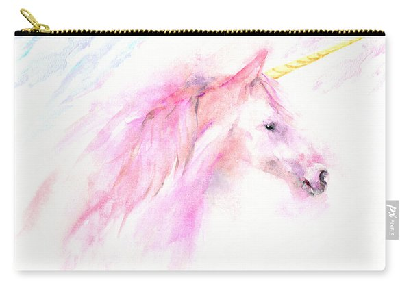 Pink Unicorn Carry-all Pouch