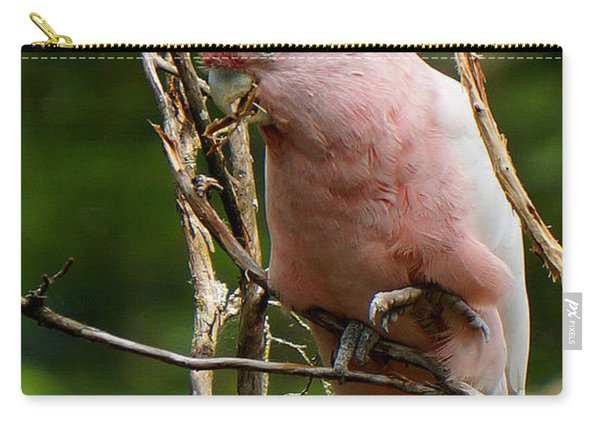 Pinky The Cockatoo Carry-all Pouch